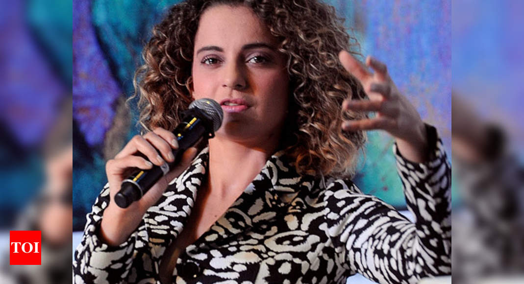 Kangana says protesting farmers are 'terrorists'