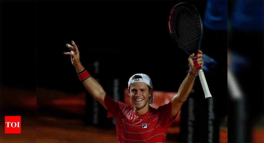 Novak Djokovic Djokovic To Face Schwartzman In Italian Open Final Tennis News Times Of India