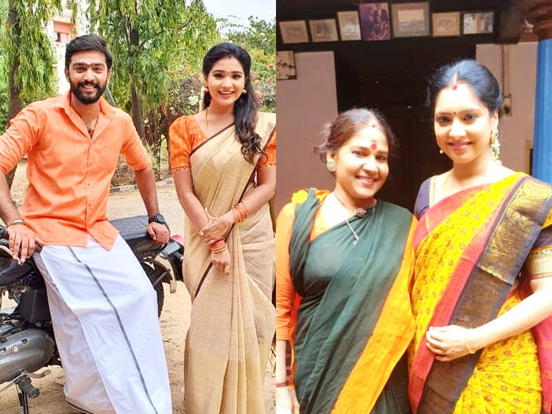 Ayudha Ezhuthu goes off-air; Anand Selvan, Sharanya Turadi Sundaraj and Syamantha Kiran thank fans (Photo - Instagram)