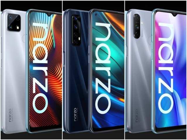 Realme Narzo 20, Narzo 20 Pro and Narzo 20A