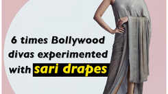 6 times Bollywood divas experimented with sari drapes