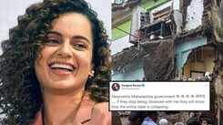 Building collapses in Thane's Bhiwandi, Kangana Ranaut slams Maharashtra govt