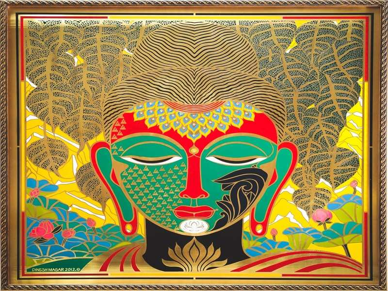 Art lovers can view brass paintings at Bengaluru-based gallery g