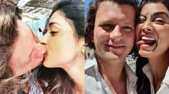 Shriya Saran shares passionate kiss with hubby Andrei Koscheev, shares some romantic photos!