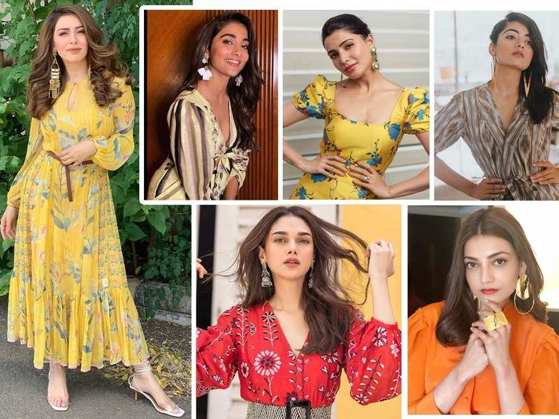 Samantha Akkineni to Hansika Motwani and Pooja Hegde: Take cues on how to rock any look with statement earrings