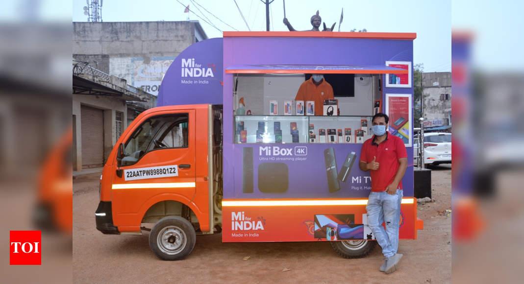 mi store on wheels:  Xiaomi India announces the launch of 'Mi Store on Wheels' – Times of India