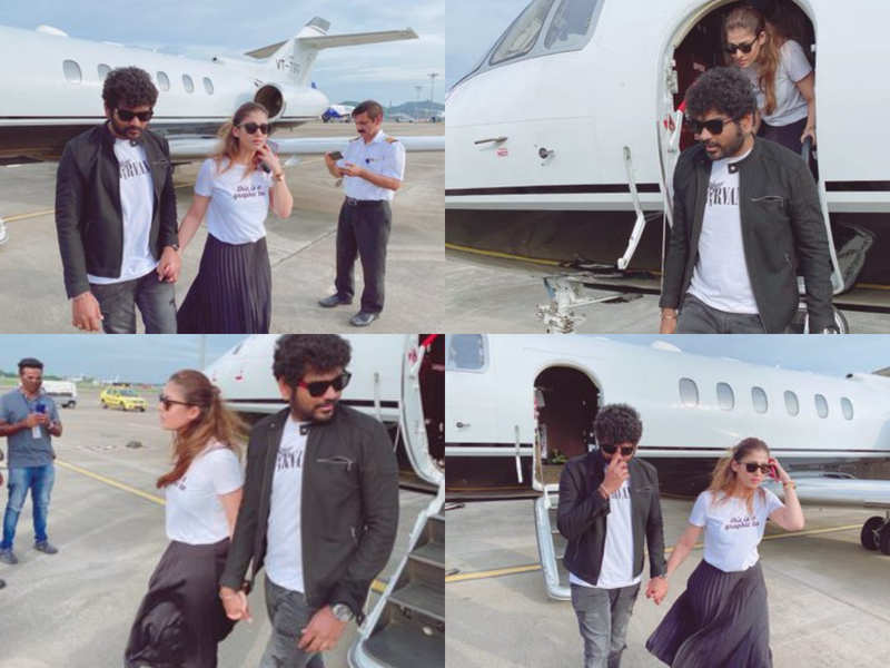 Vignesh Shivan and Nayanthara are back home after their vacation in Goa