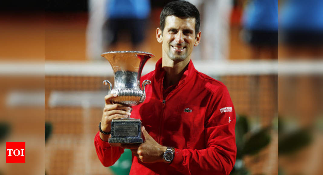 Djokovic wins fifth Italian Open to make Masters history | Tennis News – Times of India