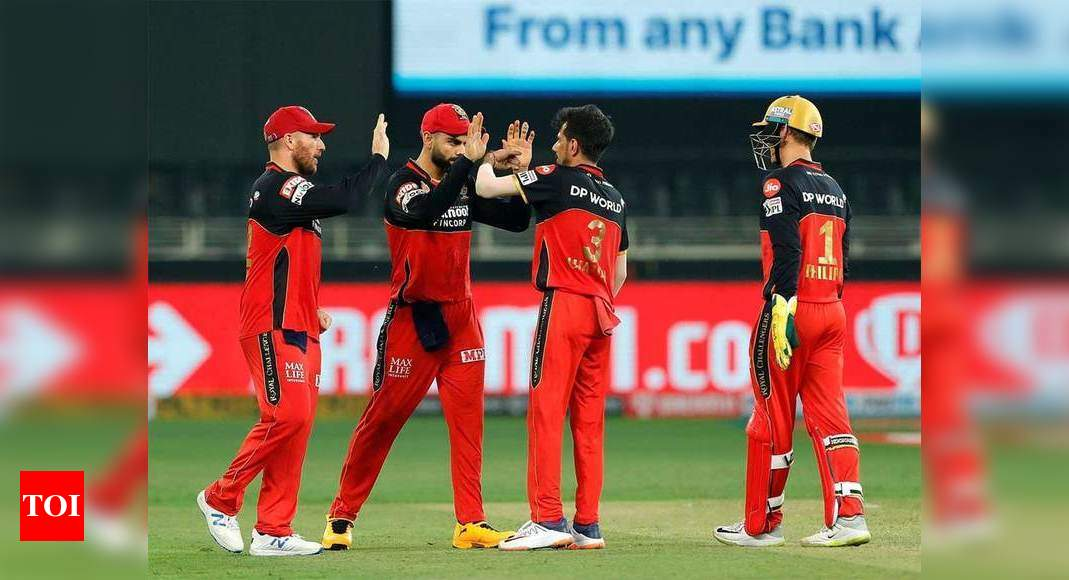 Sunrisers Hyderabad vs Royal Challengers Bangalore: Debutant Padikkal, Chahal get RCB off to a winning start | Cricket News – Times of India