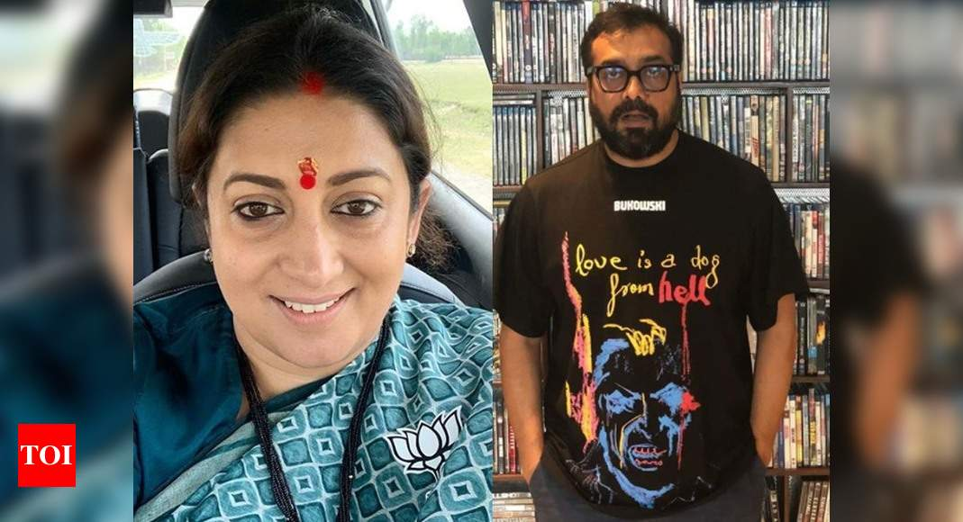 Smriti on Payal's allegations against Anurag