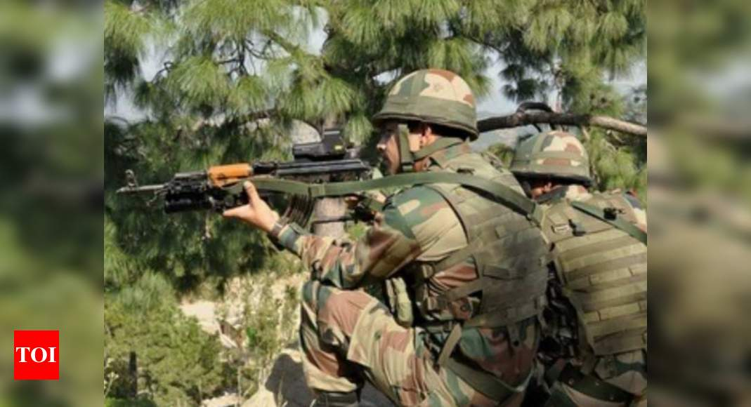 Encounter underway between security forces, terrorists in Jammu & Kashmir's Budgam