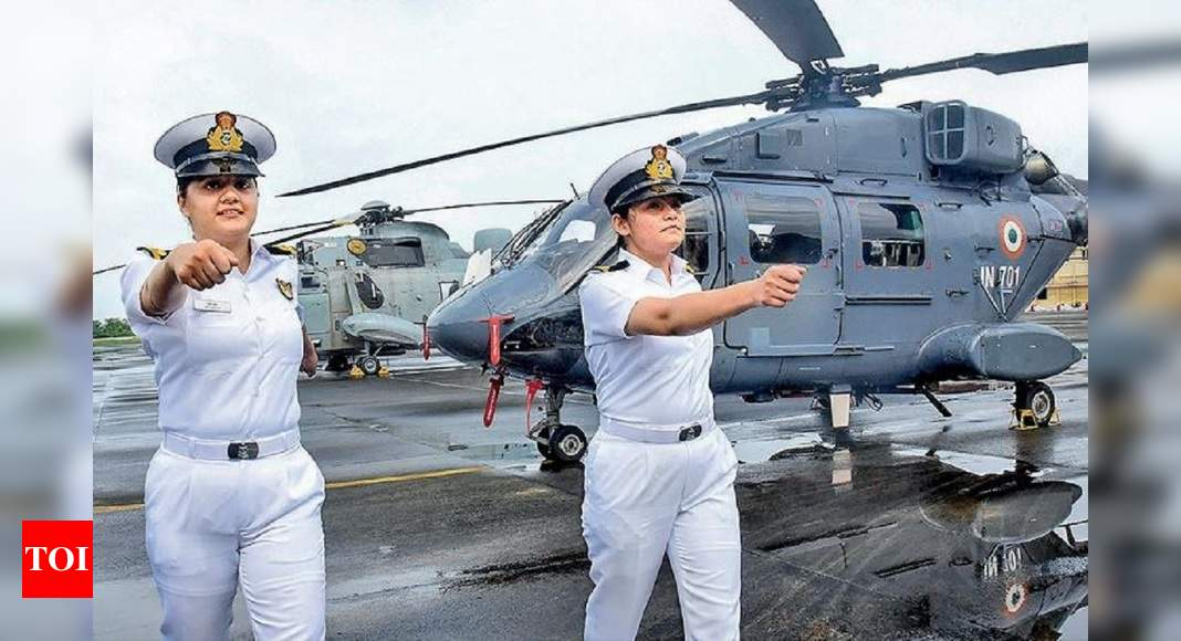 Women pilots picked to fly warship choppers