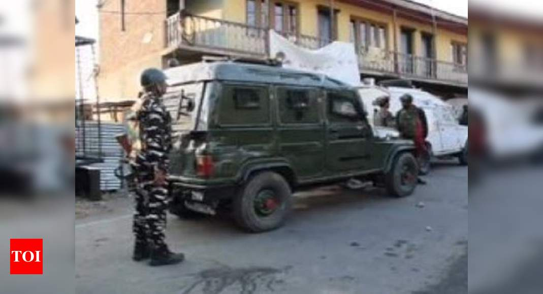 One terrorist killed by security forces in J&K's Budgam encounter