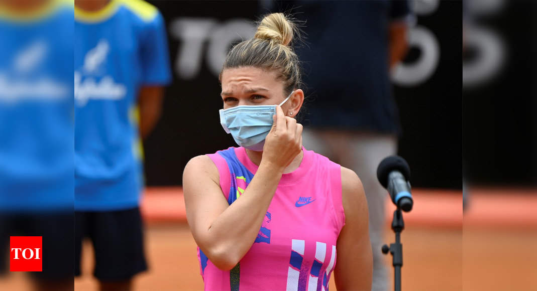 Simona Halep 'worried' after player fails Covid test at Roland Garros qualifying