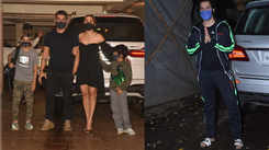 Amrita Arora spotted with her family at Kareena Kapoor's residence, Varun Dhawan clicked in his sporty attire