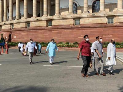 Opposition walkout