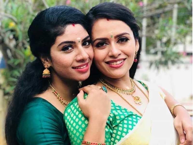Seetha Kalyanam actress Reneesha shares an heartwarming birthday wish for on-screen sister Dhanya Mary; read post