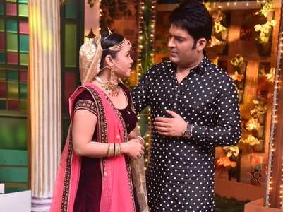 Kapil Sharma tries to please an upset Sumona