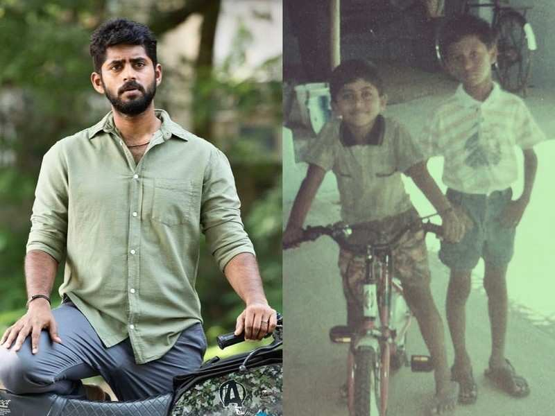 This childhood picture of actor Kathir is unmissable