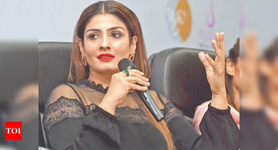 Raveena welcomes clean up: Punish the guilty
