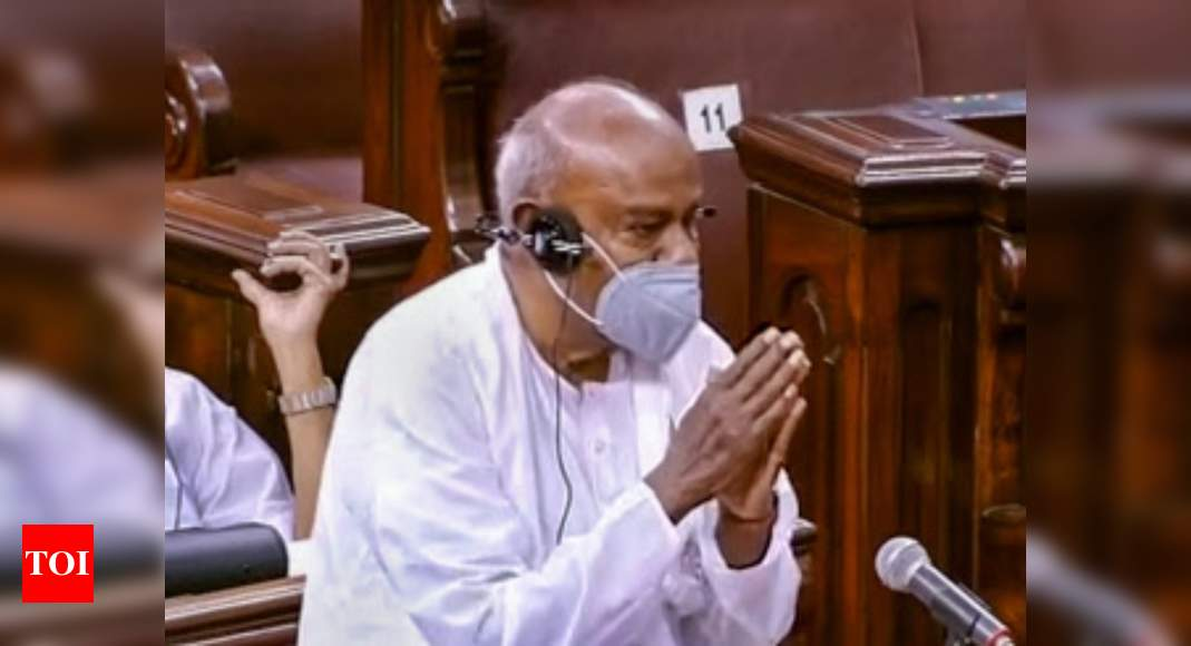 Government, opposition should resolve issues to help run Rajya Sabha: HD Deve Gowda