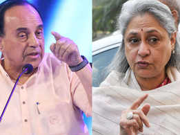 When the film industry is full of witches, we have to hunt for them: BJP MP Subramanian Swamy on Jaya Bachchan's 'witch-hunt' remark