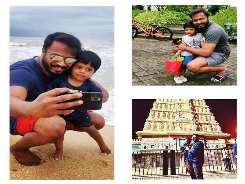 Pannaga Bharana enjoys a break with family holiday
