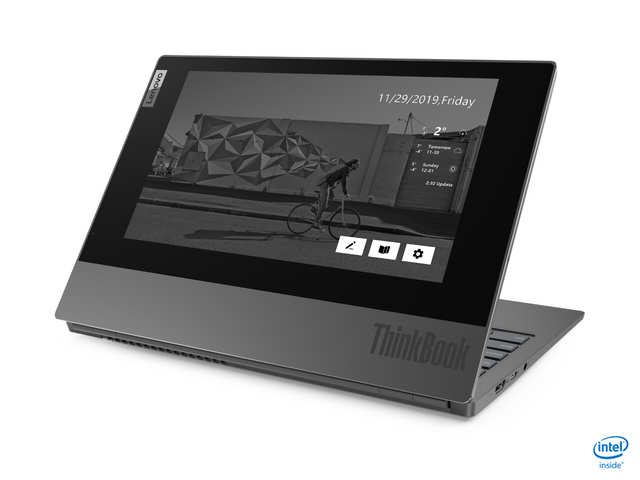 Lenovo launches dual screen notebook ThinkBook Plus