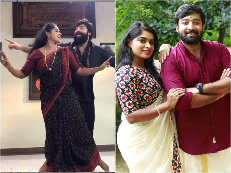 This dance video of Pookkalam Varavayi couple Niranjan and Arathy is too cute to be missed; watch