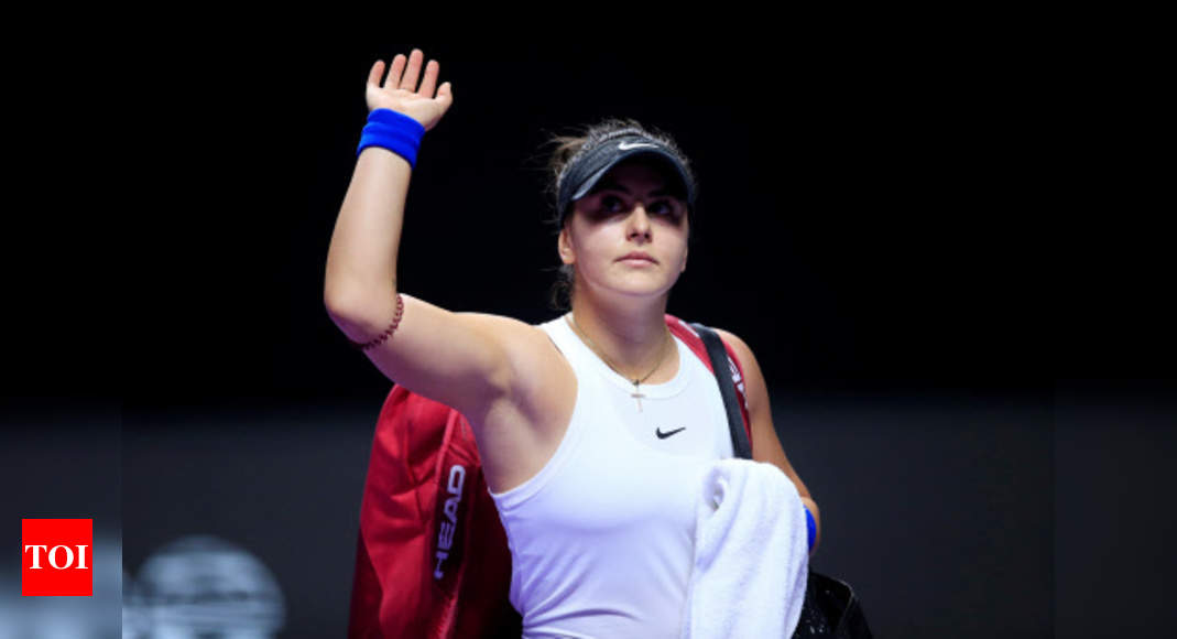 Andreescu pulls out of French Open, to take rest of 2020 off | Tennis News – Times of India