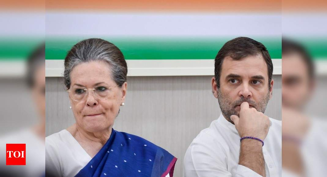 Sonia Gandhi, Rahul return from abroad after her medical check-up