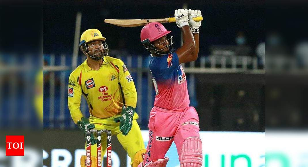 Rajasthan Royals vs Chennai Super Kings: Sanju Samson leads Royals to 16-run win | Cricket News – Times of India