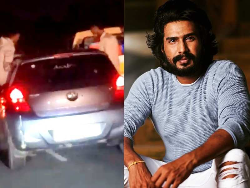 Vishnu Vishal urges police to take action against troublemakers on the road, shares the video