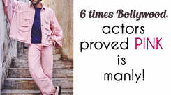 6 times Bollywood actors proved PINK is manly!
