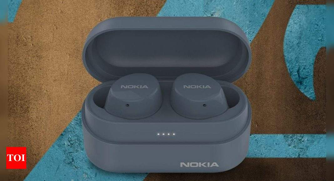 Nokia Power Earbuds Lite, Nokia Portable Wireless speaker launched - Times of India