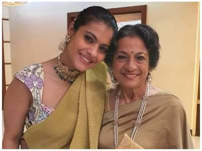 Kajol's sweetest b'day wish for her mom