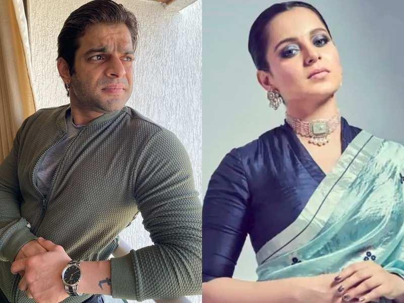 Karan Patel indirectly mocks Kangana Ranaut's mental state; later clarifies he means no offence