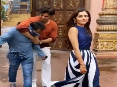 Mohit Malik saves Sana from goons