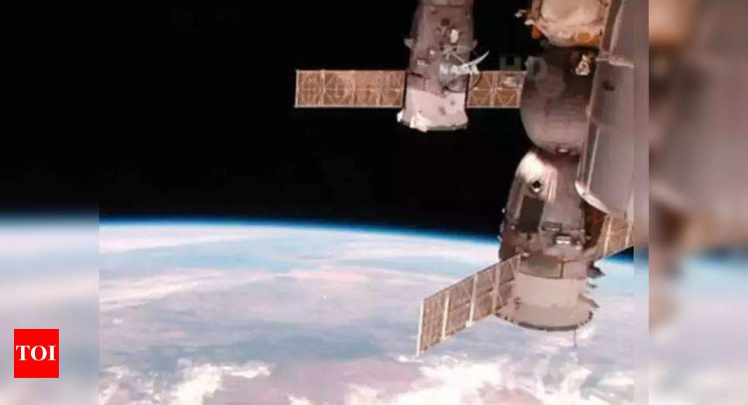 International Space Station moves to avoid space debris – Times of India