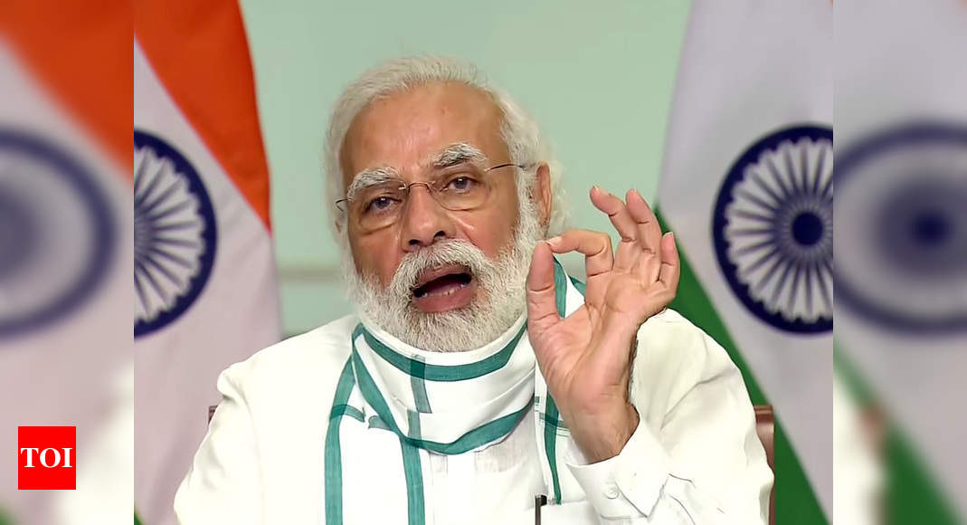 Only 60 districts in 7 states are a cause of worry: PM Modi at Covid-19 review meet - Times of India