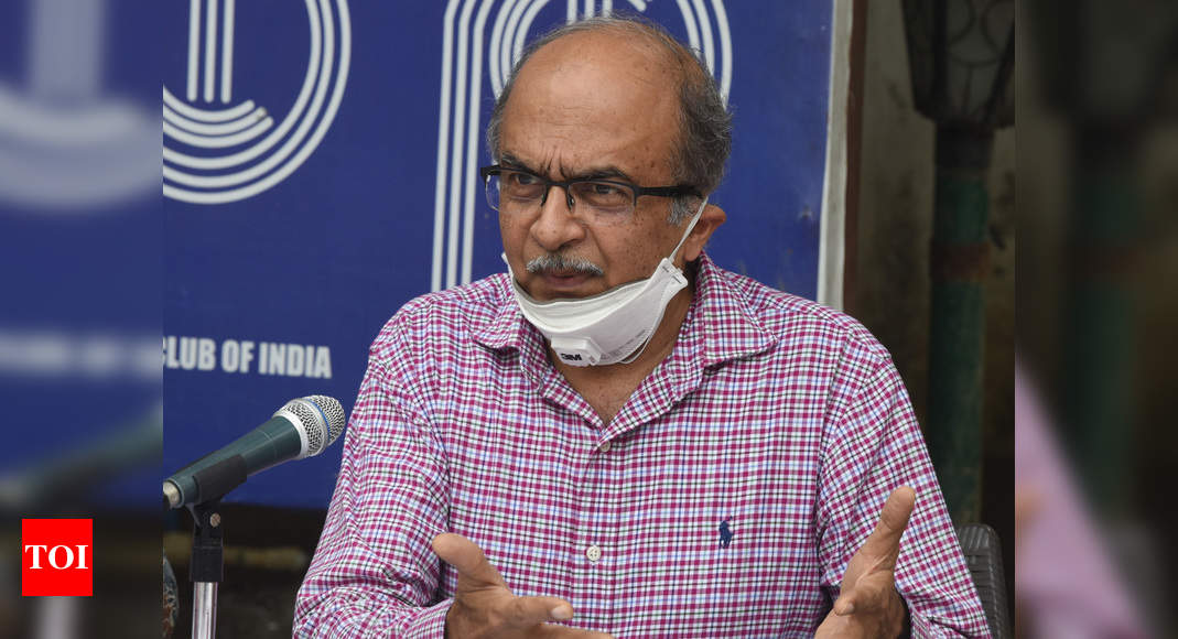 Prashant Bhushan accuses Bar body of trying to gag lawyers   India News – Times of India