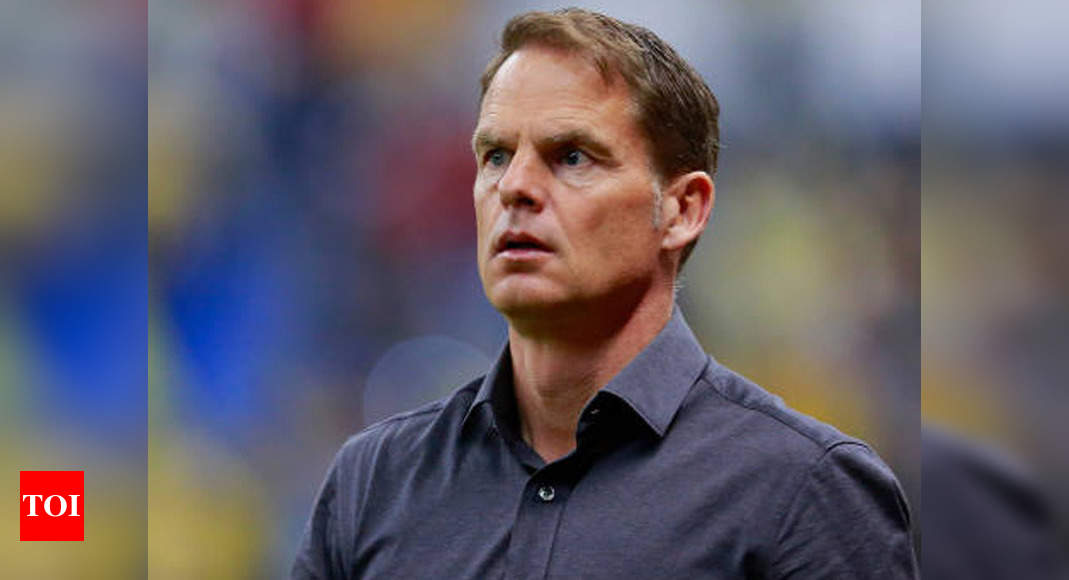 Frank de Boer appointed Netherlands national team coach   Football News – Times of India