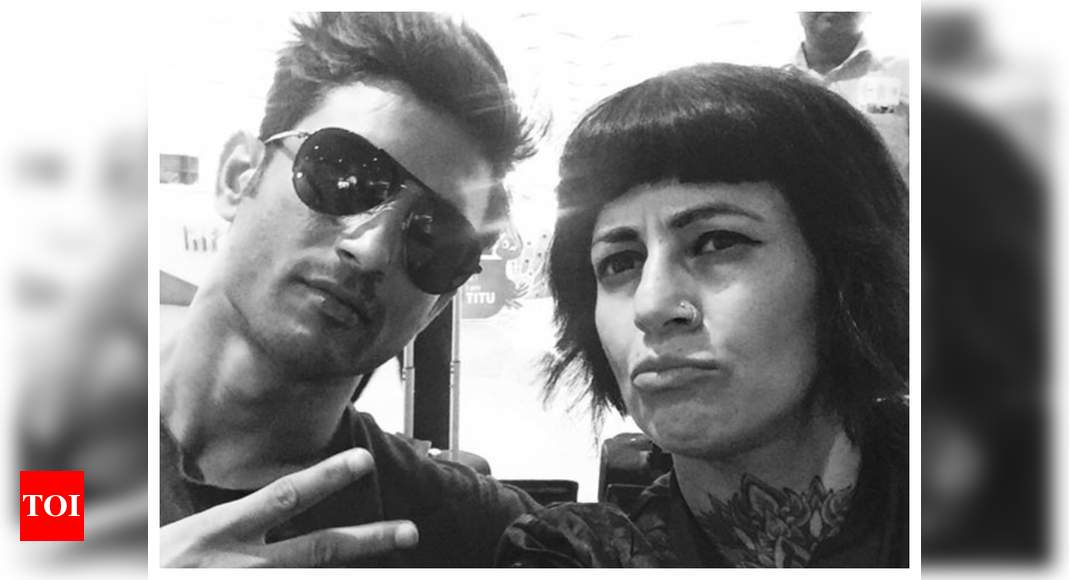 Sapna Bhavnani shares a throwback pic with SSR