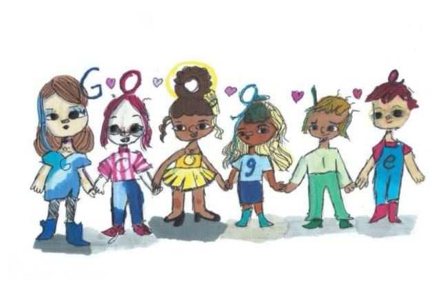 5th grader wins '2020 Doodle for Google' for spreading kindness