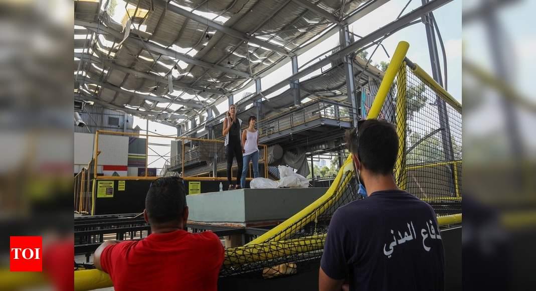 Beirut businesses crowdfund to rebuild after blast