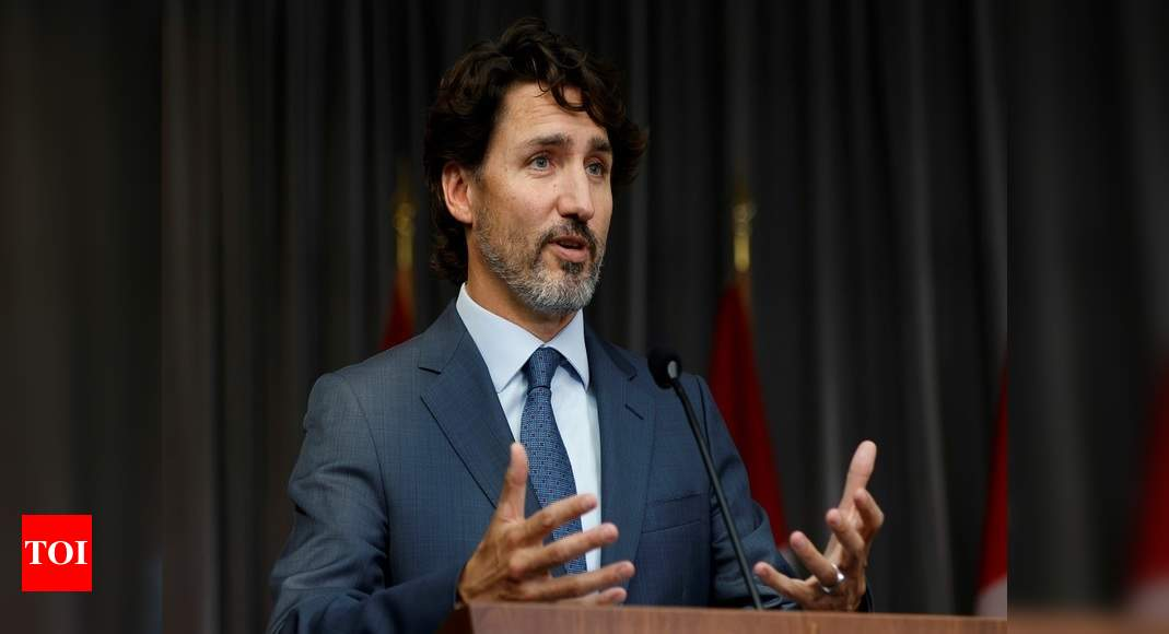 Canada is in second wave of pandemic: Trudeau