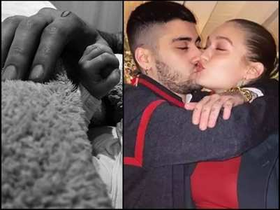 Gigi pens a sweet message for her newborn