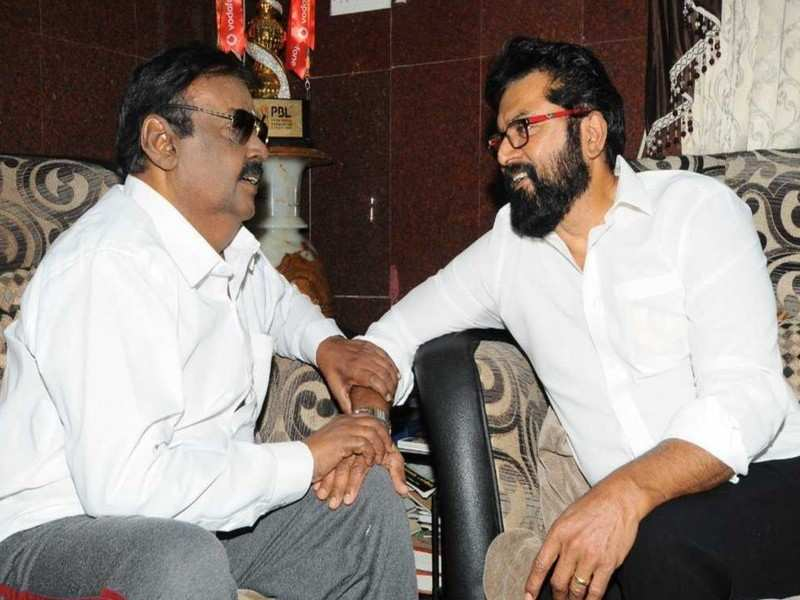 Vijayakanth tests positive for COVID 19, friend Sarathkumar wishes him for a speedy recovery