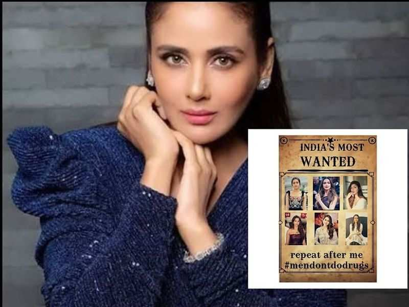 Parul Yadav shares a sarcastic poster where she says #MenDontDoDrugs