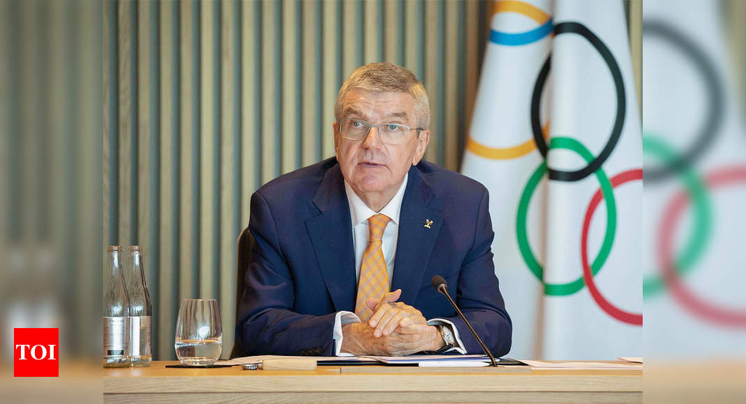 Sports events can be held without vaccines: Thomas Bach